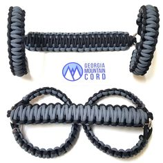 This is for a JK/JKU 4-door 2007-2016 ONLY paracord grab handles in Gunmetal Gray Set includes: two front grab handles that wrap around the roll bar w/4: 3/16 bow stainless steel shackles. The handles