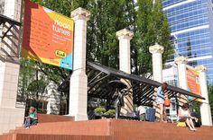 Pioneer Square Portland, Love summer in Portland