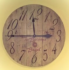 Diy Large Wall Clock Cut Wood Circle Clock Kit From