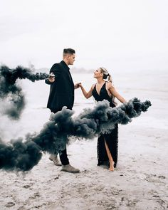 """4,100 Likes, 70 Comments - Wedding Chicks® (@weddingchicks) on Instagram: """"Engagement sessions + smoke bombsPhotography by @dukemoose 