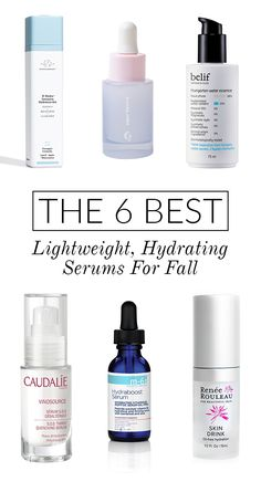 Prep Your Skin For Fall With These Lightweight (and Hydrating!) Serums   Glitter Guide