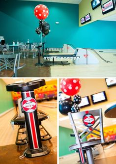 Anders Ruff Custom Designs, LLC: Pierson's Retro Bowling Party