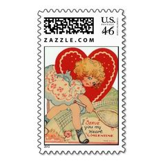 #tennis #stamp - #timbre   Posted on zazzle.com