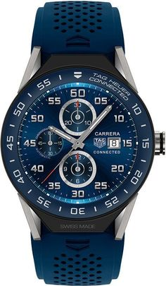Tag Heuer Connected Modular 45 mm Blue Mens Watch | Best Price | www.majordor.com | @majordor | #majordor #tagheuerwatches #luxurywatches #BestMensWatches