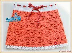 Delicadezas en crochet Gabriela: Falda de niña