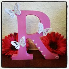 R Alphabet In Heart is for Rosemary on Pinterest | Letters, Wooden Letters and Initials