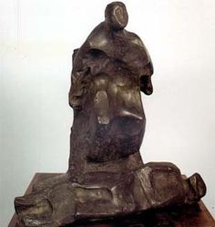 """Jorge Oteiza, """"Estudio para la piedad de Aranzazu"""", 1969. Bronce"""