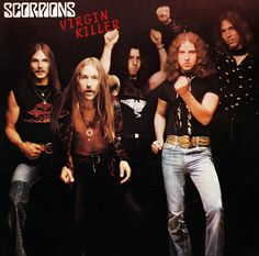 Scorpions - Virgin Killer on Numbered Limited Edition 180g LP
