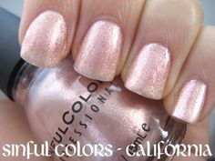 Sinful Colors California