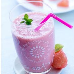 Smoothie au pamplemousse