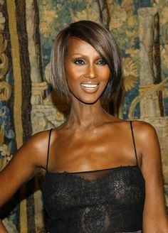 Iman 45-Degree Haircut