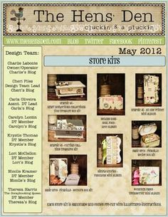 The Hens Den - May 2012 Newsletter