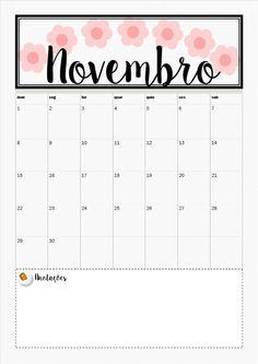 Paty Dibona: Planner de Novembro