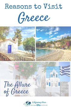 There are so many reasons to visit Greece - read all about the allure of Greece with its ancient culture, spectacular scenery, beaches, hikes, food and people - Discover more here