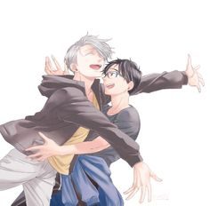 Yuri and Viktor