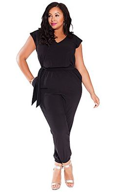 IGIGI Women's Plus Size Catalina Jumpsuit The true statement piece of the season our Catalina Jumpsuit is a timeless classic that is an essential for the chic New Look Fashion, Curvy Girl Fashion, Diva Fashion, Plus Size Fashion, Fashion Outfits, Plus Size Dresses, Plus Size Outfits, Plus Size Jumpers, Plus Size Jumpsuit