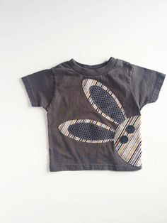 Bunny Rabbit T Shirt for Boy Boy Easter Shirt by kakabaka on Etsy, $20.00
