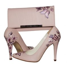 Pantofi pictati manual Butterfly Effect Shoe Makeover, Painting Shoes, Painted Clothes, Wedding Accessories, Color Combinations, Fingers, Watercolor Art, Stiletto Heels, Pumps