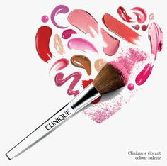 Clinique make up heart