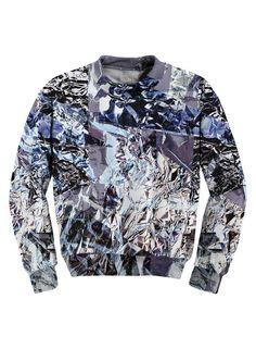 Aluminum Foil Sweatshirt