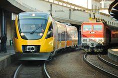 Regiojet Train in Prague - Vlak RegioJet, nádraří, železnice - Foto ČTK