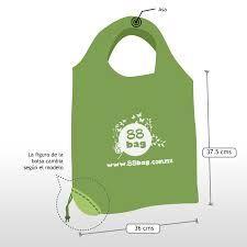 Resultado de imagen para bolsa ecologica verde