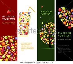 vertical print banner design