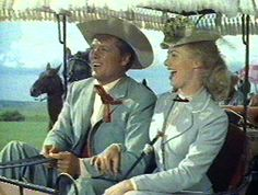 The 1955 film Oklahoma!  | ... always on the lookout for hats and this film was no disappointment