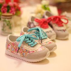 girls Printing Sneakers 2015 spring baby shoes girls Sneakers kids sport shoes Children Sneakers  princess  girls print Sneakers