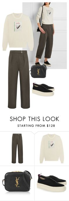 """inspired by Net-a-porter"" by endonggg on Polyvore featuring Kenzo, J.W. Anderson, Yves Saint Laurent, Eytys, women's clothing, women's fashion, women, female, woman and misses"
