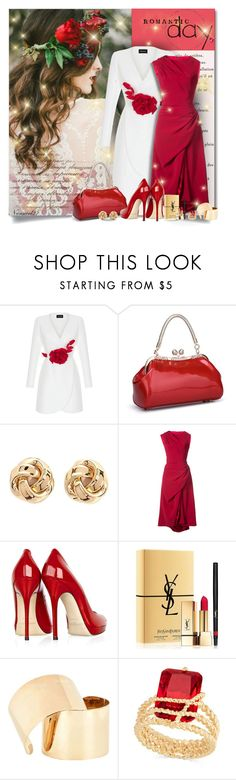 """""""Romantic Day..."""" by nannerl27forever ❤ liked on Polyvore featuring Rasario, Forever 21, Christian Siriano, Jimmy Choo, Yves Saint Laurent, Maison Margiela and Charter Club"""