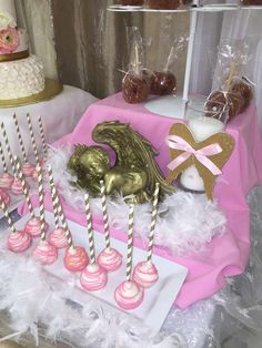 Angel / Heaven Baptism Party Ideas   Photo 16 of 23   Catch My Party