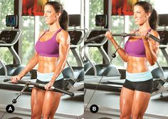 Esculpir sus brazos más atractivas con sistemas de la gota del entrenamiento