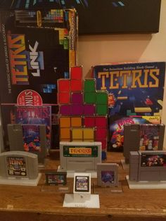 Updated Tetris collection
