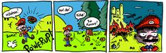 It's-a-him, Mario. I Am Awesome, Mario, Comic Books, Comics, Cover, Comic Book, Comic Book, Blanket, Comic