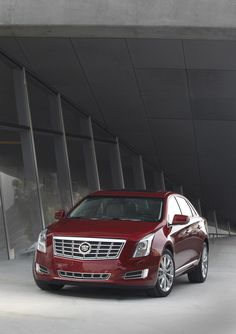 2013 Cadillac XTS.  Successor to the STS, which in turn was the successor to the Seville.