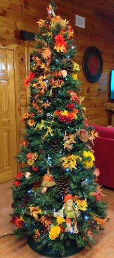 My Autumn/Fall/Thanksgiving Christmas tree