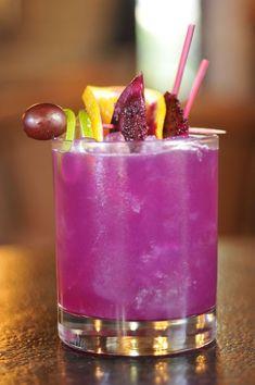 Prickly Pear Margarita Recipe from the Gage Hotel in Marathon, TX.
