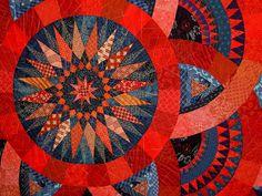 Cinnabar & Indigo  by Judy Mathieson, Sebastopol, CA