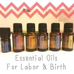 essential oils for labor and birth
