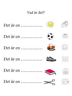 Learn Swedish, Swedish Language, Future Classroom, Sign Language, Pre School, Special Education, Fun Activities, Literacy, Homeschool