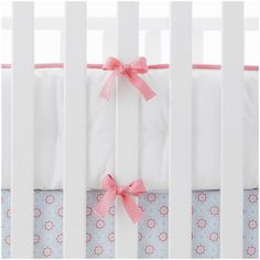 Serena & Lily Nursery Basics Crib Bumper - Punch on shopstyle.com