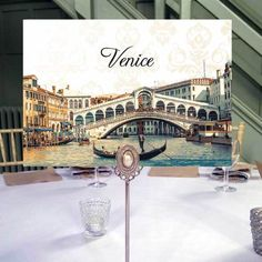Order personalised wedding table names