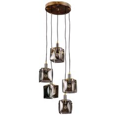 Italian hanging lamp | From a unique collection of antique and modern chandeliers and pendants  at http://www.1stdibs.com/furniture/lighting/chandeliers-pendant-lights/