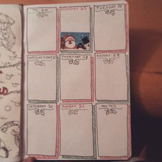 """Mi piace"": 40, commenti: 4 - Carmen Brucato (@crysalis_soul) su Instagram: ""Next week. With a little anticipation of the #Christmas page... #bujo #bulletjournaladdict…"""
