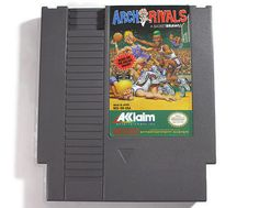 Arch Rivals Nintendo NES 1990 Retro Video Game by Retro8Games
