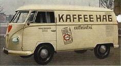 Vintage VW Bus Signage by Delicious Industries Volkswagen Transporter, Vw Bus T2, Car Volkswagen, Vw Cars, Vw T1, Vw Camper, Campers, Vw Kombi Van, Bus Advertising