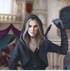 Adarlan's Assassin credit to artist on pic