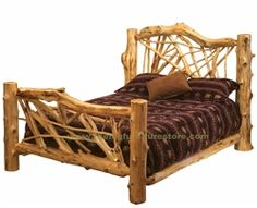 Cottage EXTREME Cedar Twig Bed