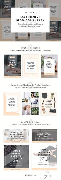 Blog   Social Bundle by Station Seven on @creativemarket #blog #blogger #girlboss #template #affiliatelink #designinspiration #design #photography #branding #brand #creativity #fashioninspiration #lifestyleblogger #lifestyle